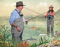 Sonia Roy / Go fishing together