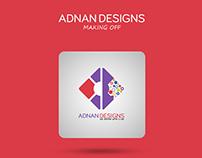 ADNAN DESIGNS Personal Logo