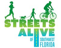 Streets Alive Logo design