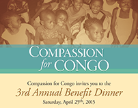 Flyer for Compassion for Congo