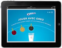 Jeu interactif OREO sur la Presse +