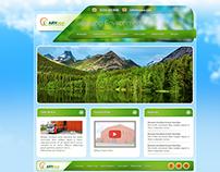 ARYeco Corporate Website, 2013