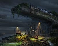 Post Apocalyptic Cityscape 02