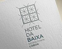 HOTEL DA BAIXA _Branding