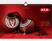 Dashrath Silver Art | calendar design