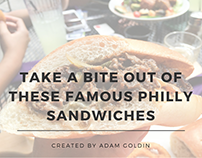 Take A Bite Out Of These Famous Philly Sandwiches