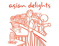 Asian Delights Branding Exercise