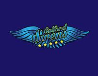 Salford Sirens Cheerleding logo