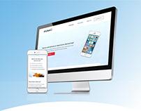 UI / UX - Drybox Website Design