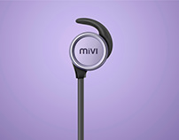 Bluetooth Headset macro photography