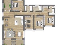 Planos con texturas para casas pref.en Guernica VIZC.