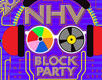 New Haven Block Party – poster