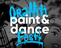 Оформление граффити фестиваля «Paint&dance»