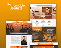 My Affordable Dentists Website