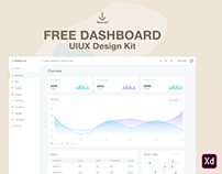 FREE - Dashboard Ui/Ux Kit & Store/Sales