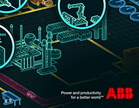 ABB showroom - Art direction & graphic design