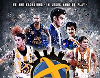 高雄聖徒職業籃球隊/海報設計製作