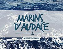 Marins d'Audace - mises en pages
