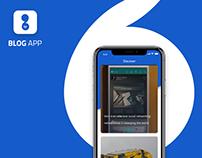 Blog App IOS UX/UI | Branding