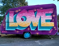 PAINTED LOVE: Murals and Paintings