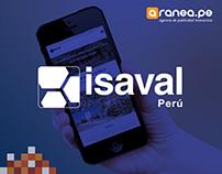 Isaval Perú | Desarrollo web