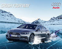 CONCEPTO: Cartel de Publicidad Audi