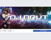 Facebook Cover Image for DJ DRVT