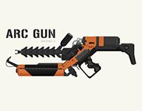 ARC GUN - district 9 | After Effects