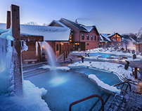 Thermea by Nordik Spa Nature - Winnipeg Winter