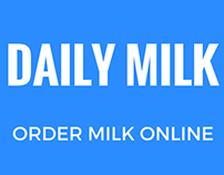 Mobile App to Order to Milk