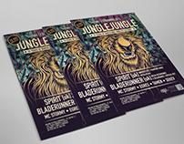 Jungle Jungle - DNB Poster