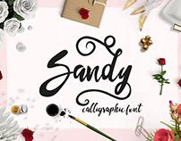 FREE SCRIPT FONT Sandy