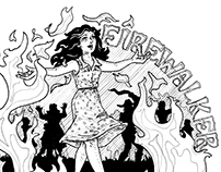 Firewalker: Illustration of a song