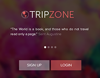 Android App - Trip Zone