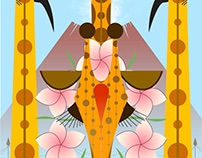 Honolulu Zoo Poster