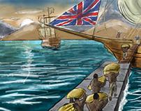 Comercio das colônias do sul