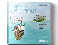 """Livro """"O Piratinha salva o Tagarela"""""""