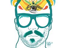 Sergio Piñata Company T-shirt / para la marca Sergio P.