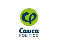 Cauca POLÍTICO · Visual Identity