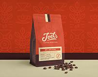 Joels Coffee Roasters Branding
