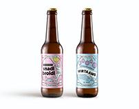 Craft beer labels for Koskenranta
