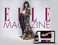Elle´s Landing Page Redesign