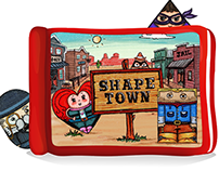 Interactive eBook: SHAPE TOWN