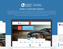 TAMWILY CONSUMER WEBSITE