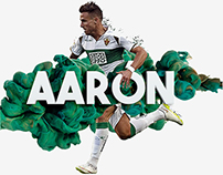 Football player - Aarón