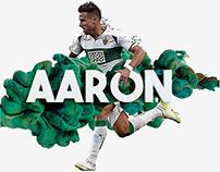 Football player - Aarón