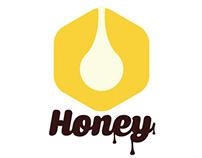 HONEY  Logo & Label