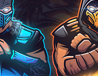 Mortal Kombat Esports logo