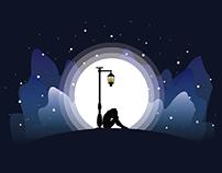Moonlight and Sad Girl