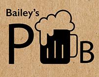 Pub Branding - Bailey's Pub